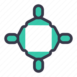 businessmen, community, group, meeting, team, users icon