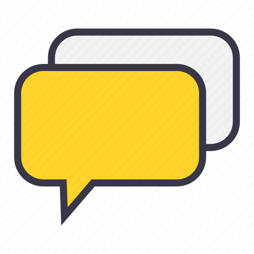 chat, communication, message, reply, response, talk icon