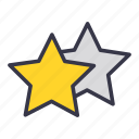 favorite, like, medal, rank, star, upvote icon