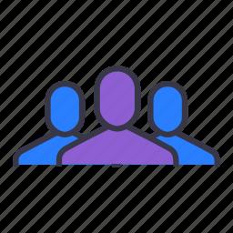 businessmen, command, level, master, member, slaves, team icon