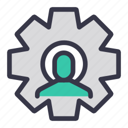 change, config, configuration, gear, option, setting, user icon