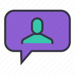 chat, comment, communication, message, reply, talk, users icon