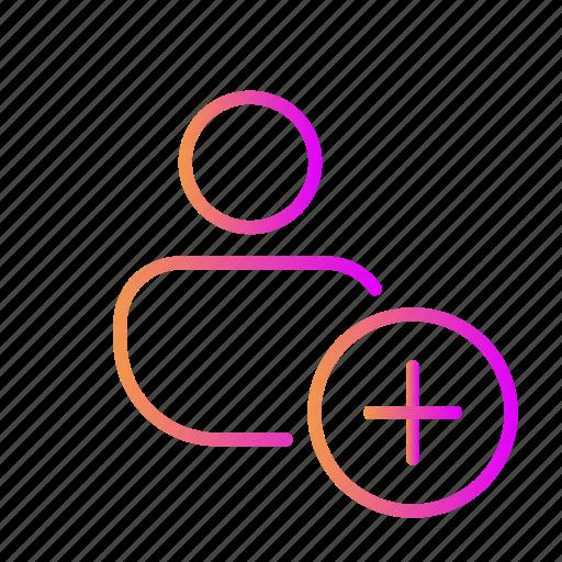 add account, add profile, add user, create account, create profile, create user, new profile icon