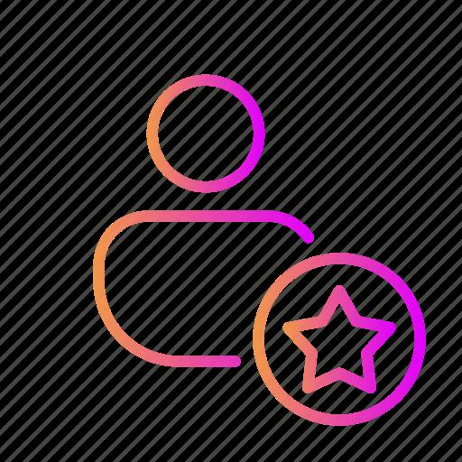 favorite, rate account, rate profile, rate user, review account, review profile, review user icon
