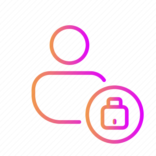 access prohibited, encrypted, lock, private, protected access, secured icon