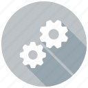 machine, gear, cog, settings icon