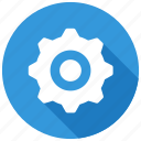 cog, gear, machine, settings icon