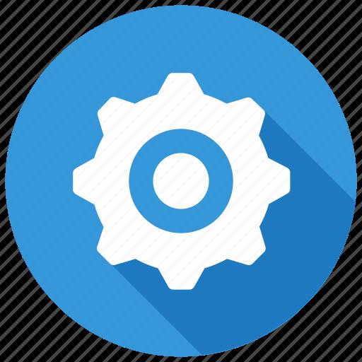 cog, gear, machine, settingsicon icon