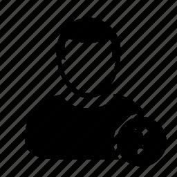 faq, man, person, question, user icon