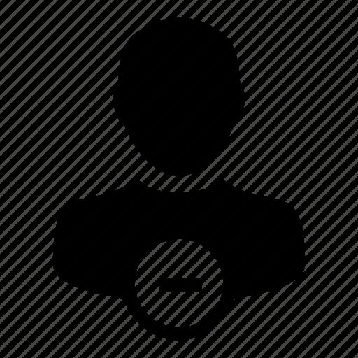 account, person, profile, remove, user icon