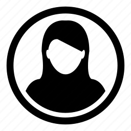 avatar, female, girl, human, user, woman icon