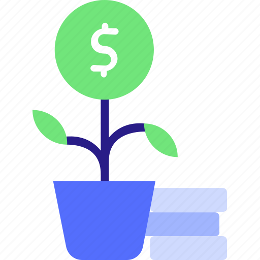 business growth, cocept, coinn, finance, investment, money, money icon, strategy icon