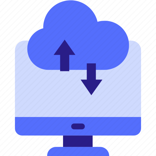 cloud computing, cloud computing concept, cloud monitor, cloud on screen, cloud storage, cloud technology icon icon