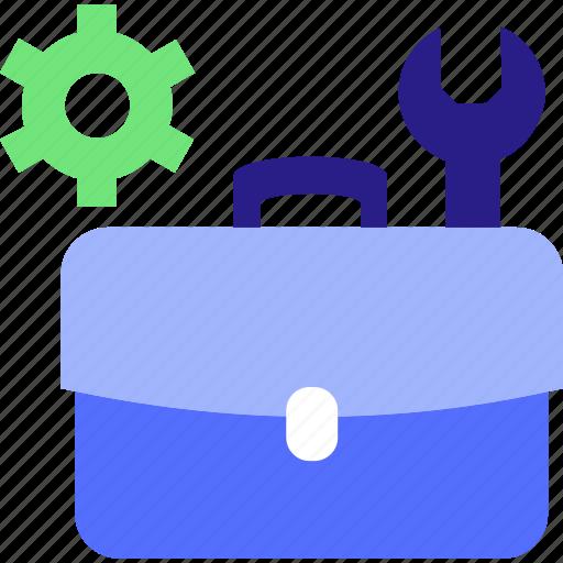 briefcase, conecpt, design, development, job, management, portfolio, project management icon icon