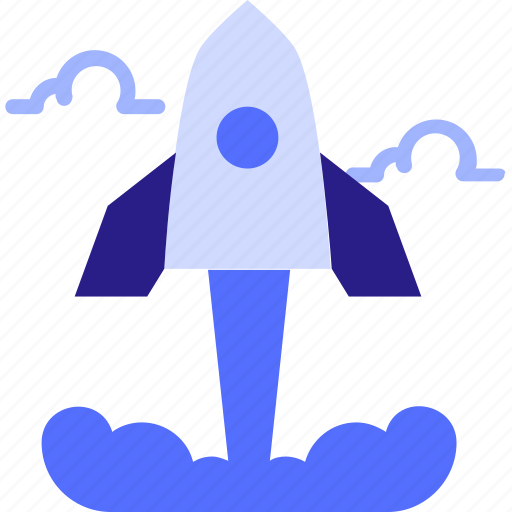 business, launch, rocket, space, spaceship, startup icon icon
