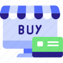 buy, buy online icon, concept, creadit card, ecommerce, now, online shopping, website icon