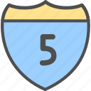 limit, maximum, speed, speed limit icon