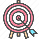 marketing, seo, target icon