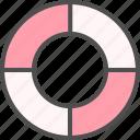 help, lifebuoy, lifesaver, support icon