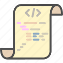 code, coding, development, html, program, programming icon