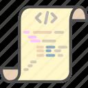 code, coding, development, html, program, programming icon