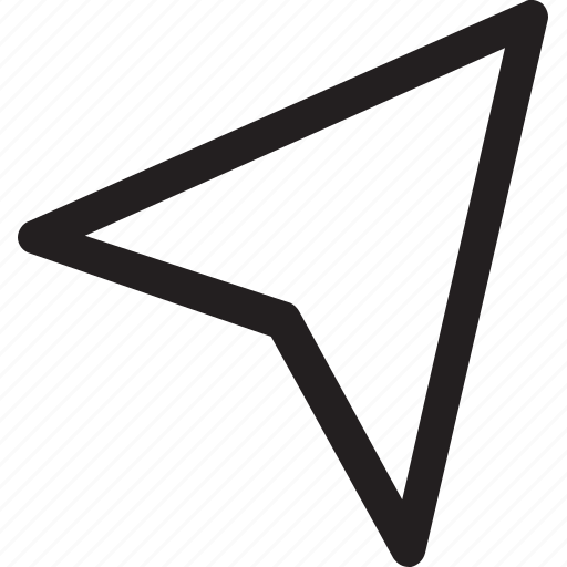 arrow, compass, cursor, direction, location, point icon