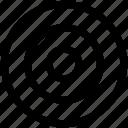 bullseye, goal, target icon