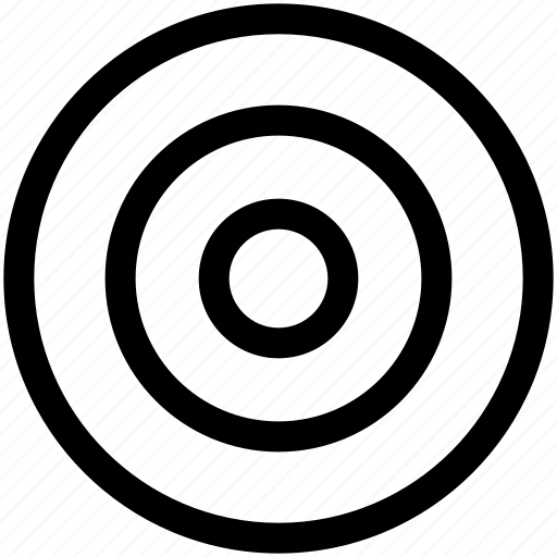 Bullseye, goal, target icon - Download on Iconfinder