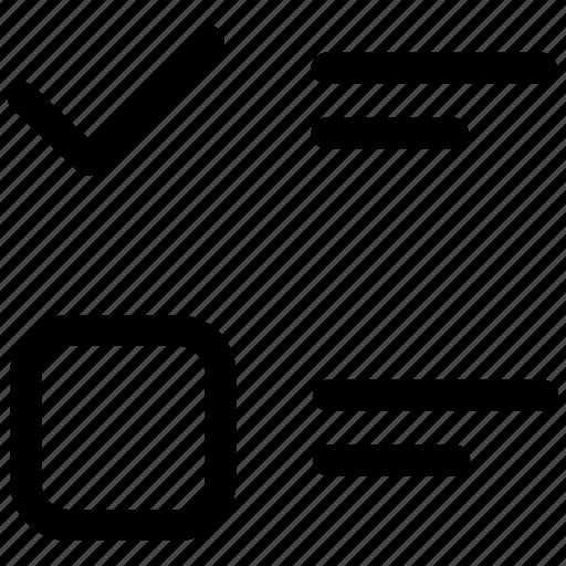 checklist, survey, tasks icon