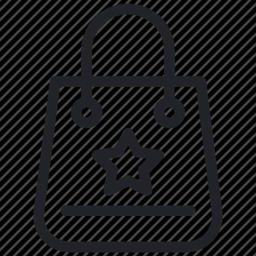 Bag, shopper bag, shopping, shopping bag, tote bag icon - Download on Iconfinder