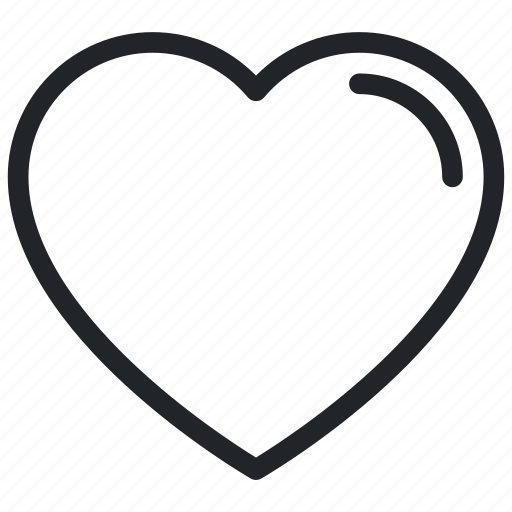 Favorite, heart, heart shape, love, romantic icon - Download on Iconfinder