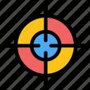 aim, interface, target
