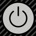interface, on, power, ui, user
