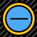 interface, minus, user