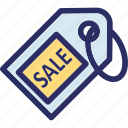 label, retail, sale offer, sale tag, tag icon