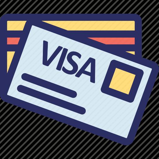 credit cards, debit card, modern banking, online banking, smart card icon