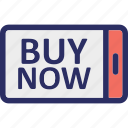 commerce, e commerce, mobile shopping, online shopping, shopping application icon