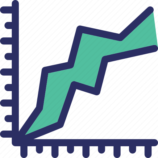 analytics, chart, diagram, graph, graph ratio icon