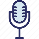 audio, loud, mic, microphone, recording mic icon