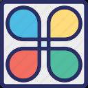 bloom, flower, flower design, logo, logotype icon