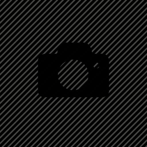 camera, interface, user icon