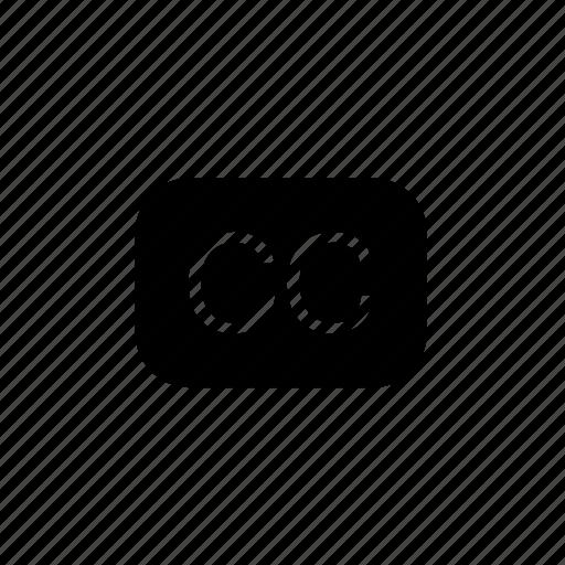 cc, interface, user icon
