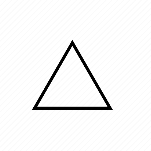 interface, triangle, user icon