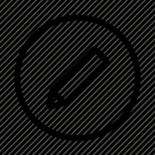 amend, change, edit, pencil, revise icon