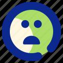 bad, emoticon, sad