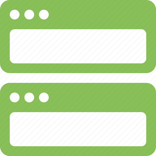 application, horizontal, tile icon