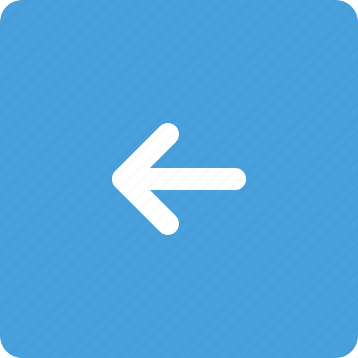 arrow, button, directions, left icon