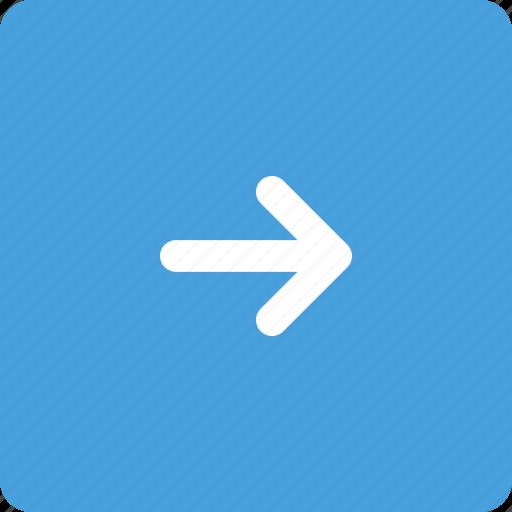 arrow, arrow key, direction, right icon