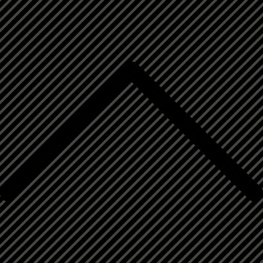 arrow, interface, ui, up, ux icon