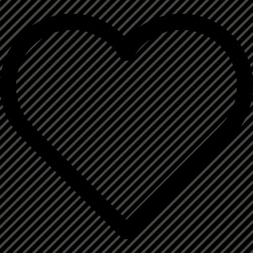 favorite, heart, interface, like, love, ui, ux icon